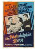 The Philadelphia Story, UK Movie Poster, 1940 Giclee Print