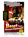 The Beast From 20,000 Fathoms, 1953 Art