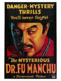 Mysterious Dr Fu Manchu, 1929 Plakaty