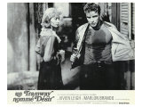 A Streetcar Named Desire, French Movie Poster, 1951 Reproduction proc&#233;d&#233; gicl&#233;e