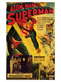 Atom Man Vs. Superman, 1948 Giclee Print