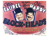 Block-Heads, 1938 Giclee Print