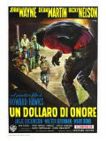 Rio Bravo, Italian Movie Poster, 1959 Posters