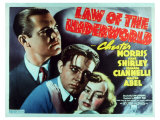 Law of the Underworld, 1938 Reproduction proc&#233;d&#233; gicl&#233;e