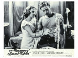 A Streetcar Named Desire, French Movie Poster, 1951 Giclee Print