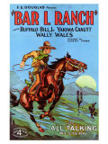 Bar L Ranch, 1930 Gicle-tryk