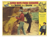 Seven Ways From Sundown, 1960 Giclée-tryk