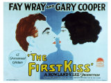 The First Kiss, 1928 Giclee Print