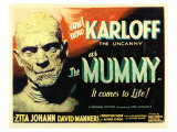 The Mummy, 1932 Reproduction procédé giclée
