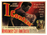 I Confess, 1953 Giclee Print
