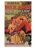One Man Law, 1932 Gicle-tryk