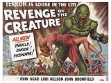 Revenge of the Creature, UK Movie Poster, 1955 Giclée-Druck