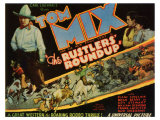 The Rustlers&#39; Roundup, 1933 Giclee Print