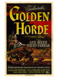 Golden Horde, 1951 Art