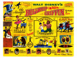 The Adventures of Bullwhip Griffin, 1967 Reproduction proc&#233;d&#233; gicl&#233;e