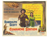 Comanche Station, 1960 Art