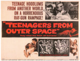 Teenagers From Outer Space, 1959 Poster