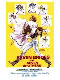 Seven Brides for Seven Brothers, 1954 - Giclee Baskı