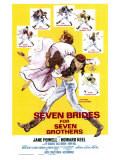 Seven Brides for Seven Brothers, 1954 Giclee Print