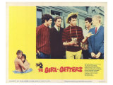 The Girl Getters, 1965 Print