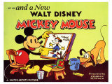 A New Walt Disney Mickey Mouse, 1932 Giclee Print