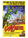 The Deadly Mantis, 1957 Art