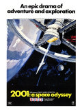 2001: A Space Odyssey, 1968 - Poster