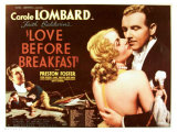 Love Before Breakfast, UK Movie Poster, 1936 Lámina giclée