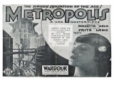 Metropolis, UK Movie Poster, 1926 Premium Giclee Print