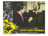 Secret Agent Fireball, 1966 Giclee Print