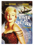 River of No Return, 1954 Kunstdruck