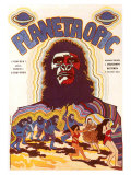 Planet of the Apes, Czchecoslovakian Movie Poster, 1968 Lmina gicle