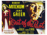 Out of the Past, UK Movie Poster, 1947 Giclee Print