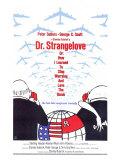 Dr. Strangelove, 1964 Giclee-tryk i høj kvalitet