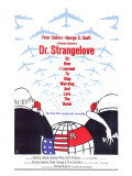 Filmposter Dr. Strangelove, 1964 Schilderijen