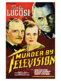 Murder By Television, 1935 Premium Giclee Print