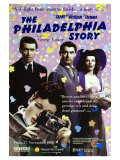 The Philadelphia Story, UK Movie Poster, 1940 Premium Giclee Print