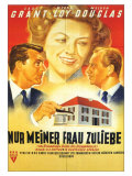 Mr. Blandings Builds His Dream House, German Movie Poster, 1948 Posters