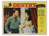 Destry, 1954 Plakater