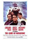 The Guns of Navarone, 1961 Umělecké plakáty
