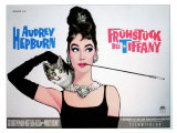 Breakfast At Tiffany&#39;s, Sweden Movie Poster, 1961 Giclee Print