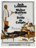 The Odd Couple, French Movie Poster, 1968 Giclee Print