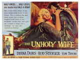 The Unholy Wife, 1957 Posters