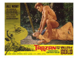Tarzan and the Valley of Gold, 1966 Giclee Print