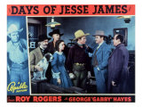 Days of Jesse James, 1939 Reproduction procédé giclée