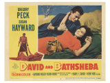 David and Bathsheba, 1951 Lámina giclée