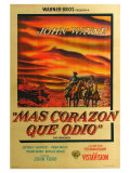 The Searchers, Argentine Movie Poster, 1956 Posters