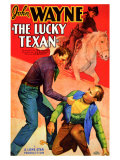The Lucky Texan, 1934 Art