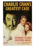 Charlie Chan's Greatest Case, 1933 Plakat