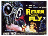 Return of the Fly, 1959 Posters